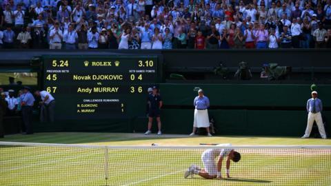 Murray wins Wimbledon 2013 title