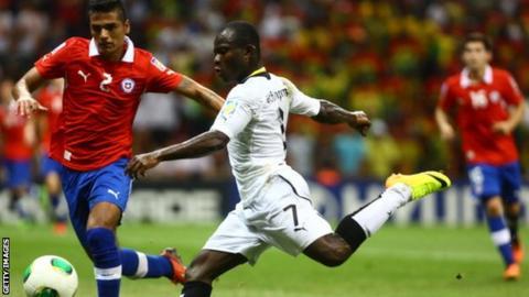 Ghana's Frank Acheampong