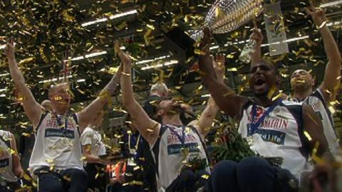 Great Britain's men's wheelchair basketball team