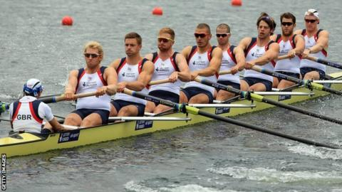 Great Britain's men's eight
