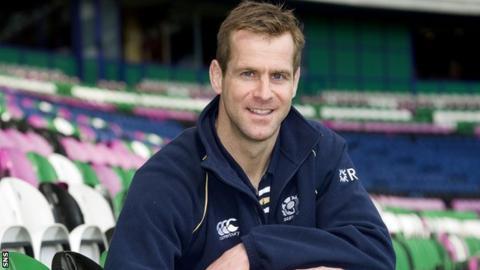 Former Scotland international Chris Paterson