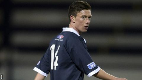 Raith Rovers winger Joe Cardle