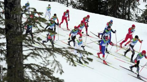 Cross Country Skiiers