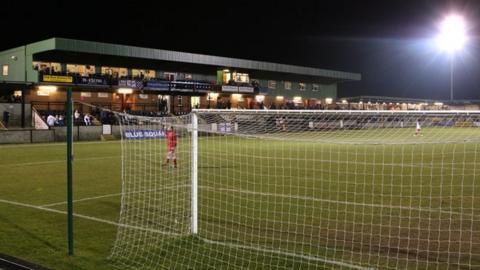 Salisbury's Raymond McEnhill stadium
