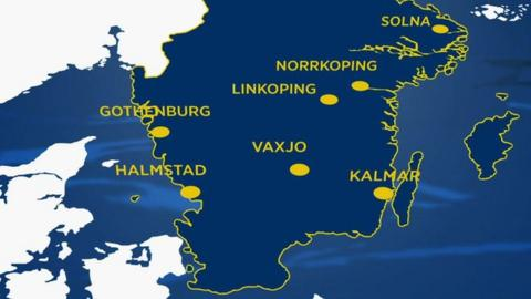 Host cities for Euro 2013