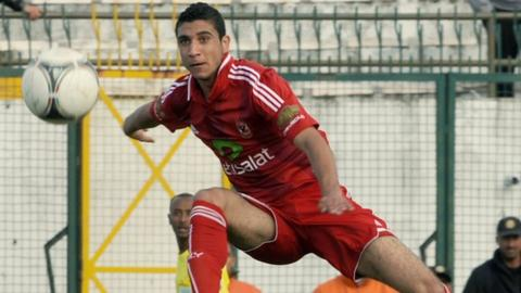 Al Ahly forward Rami Rabiaa
