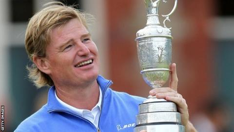 Ernie Els wins Open in 2012