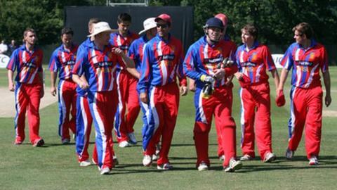 Jersey cricket team
