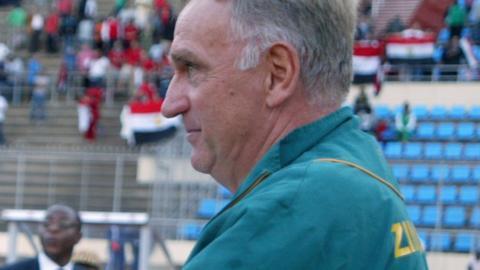 Zimbabwe coach Klaus-Dieter Pagels