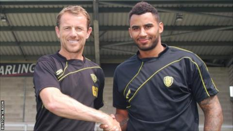 Gary Rowett and Rene Howe