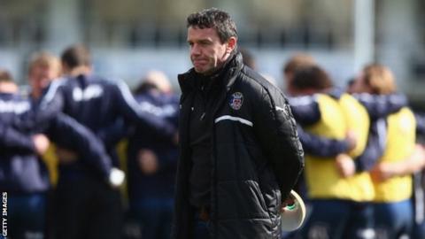 Bath head coach Mike Ford