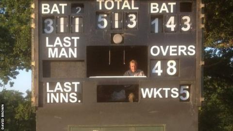 The score was a new Cornish record