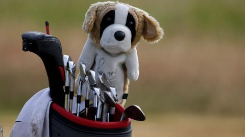 Rory McIlroy's bag