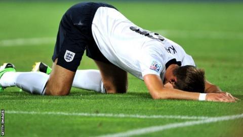 Harry Kane of England U21