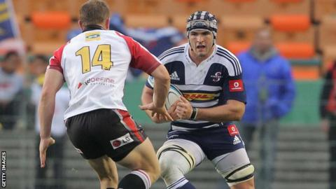 Don Armand in action for the Stormers
