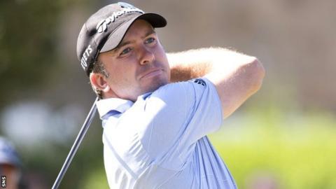 Scottish golfer Martin Laird