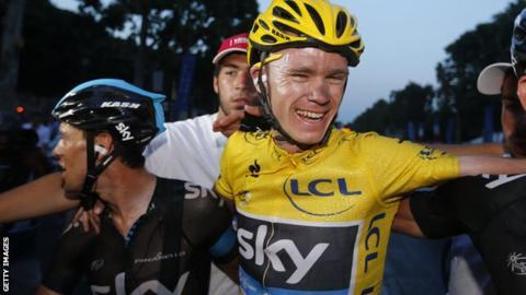 Chris Froome wins Tour de France
