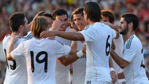 Bournemouth v Real Madrid