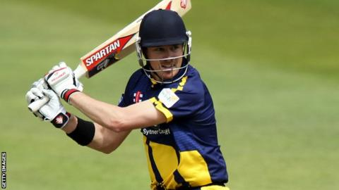 Glamorgan one-day captain Marcus North in action