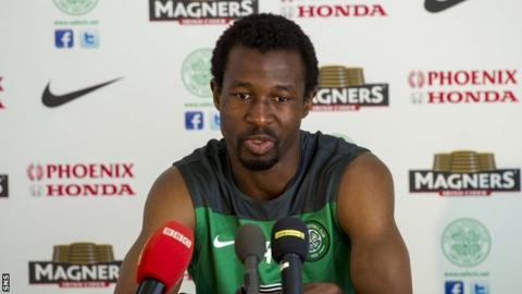 Celtic defender Efe Ambrose