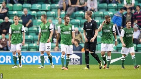 Hibernian were thrashed 7-0 by Malmo at Easter Road