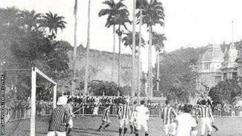 Exeter City v Brazil, 1914