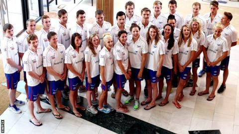 British swimming team