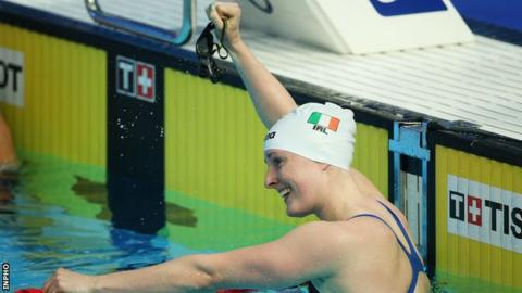 Fiona Doyle won silver in the women's 100m breaststroke at the recent World University Games
