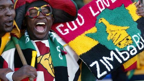 Zimbabwe fan