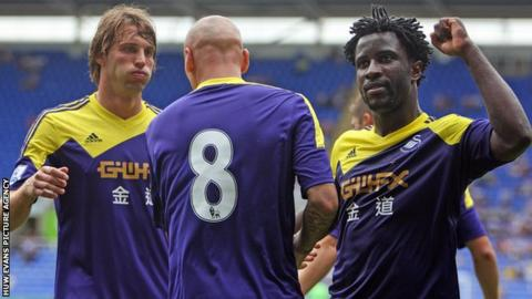 Michu and Wilfried Bony