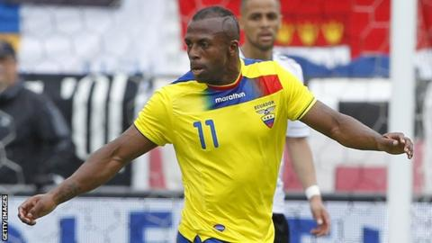 newest 836ca 592b8 Christian Benitez: Striker died of heart failure - BBC Sport