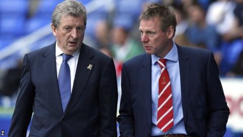 Roy Hodgson and Stuart Pearce