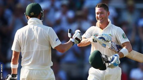 Steve Smith and Michael Clarke