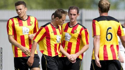 Partick Thistle are this year's top flight new boys