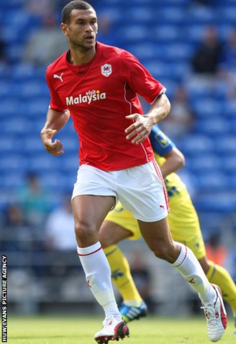 New signing Steven Caulker came off the bench to make his first appearance for Cardiff in the pre-season win over Chievo Verona.