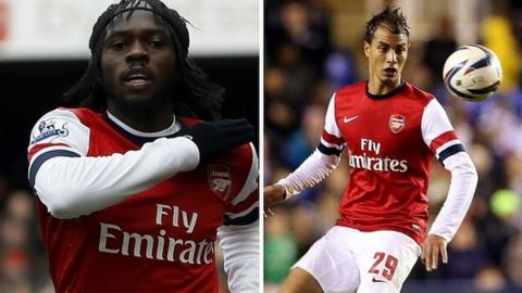 Gervinho and Marouane Chamakh