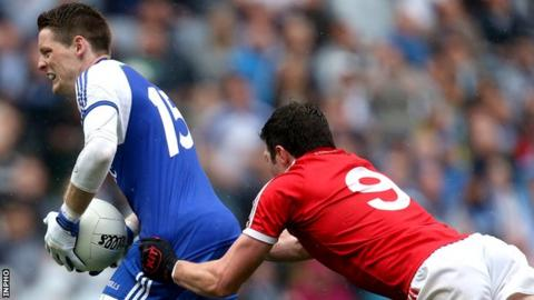 Sean Cavanagh's rugby-type tackle on Conor McManus infuriated Joe Brolly