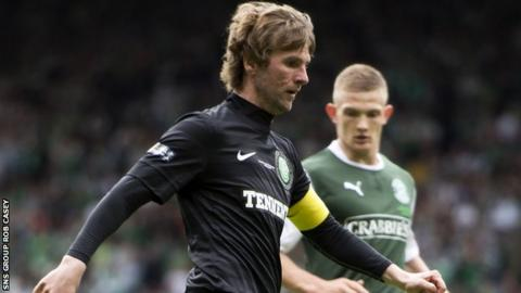 Pat McCourt on his last Celtic appearance against Hibs in the Scottish Cup final