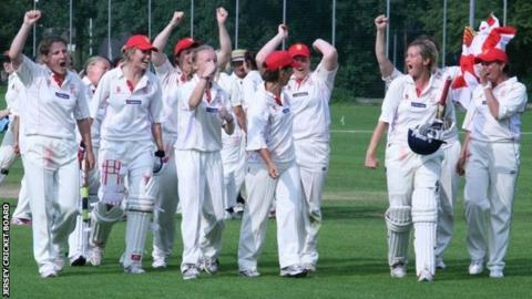 Jersey Women's Cricket Team