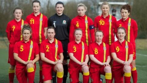 Wales Under 19 Team. Pic: Propaganda