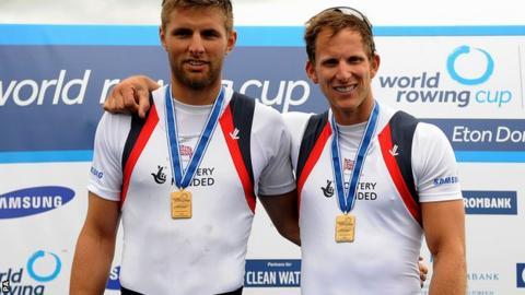 Bill Lucas and Matt Langridge