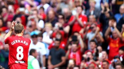 Steven Gerrard and Anfield