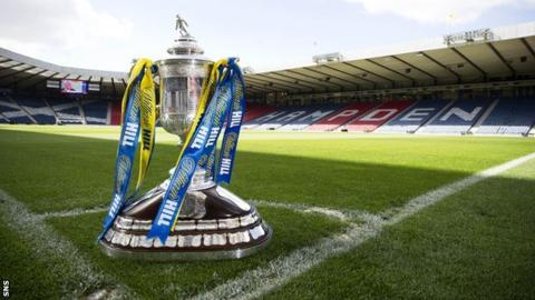 Scottish Cup trophy