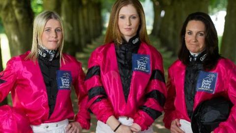 Female team for Shergar Cup