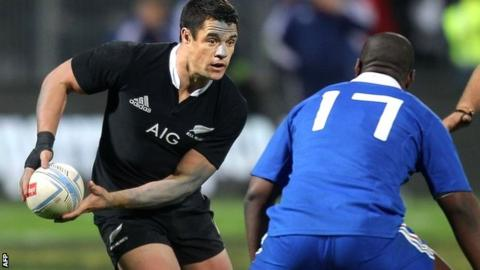New Zealand star player Dan Carter