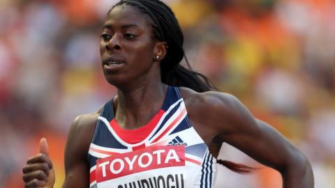Great Britain's Christine Ohuruogu
