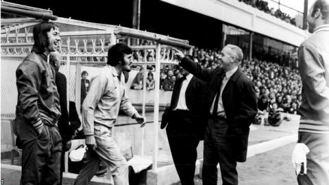Charlie George, Jimmy Hill, Bill Shankly