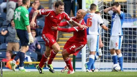 Darius Henderson scored a late winner for Nottingham Forest