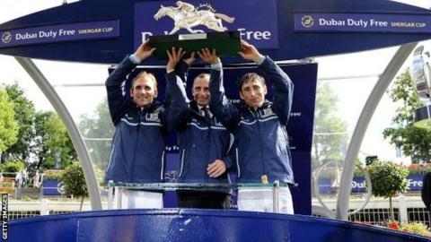 Europe win Shergar Cup