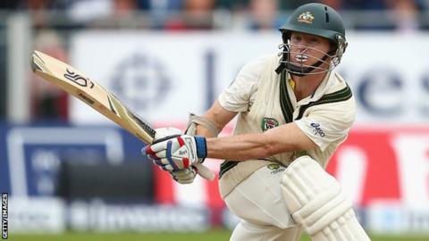 Australia's Chris Rogers